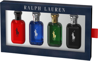 Polo Miniatures, Polo Red 15 ml, Polo Blue 15 ml, Polo Green 15 ml, Polo Black 15 ml Ralph Lauren Gift Set Herr