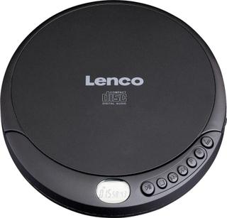 Lenco CD-010 Bärbar CD-spelare CD, CD-RW, CD-R Batteri-laddningsfunktion Svart