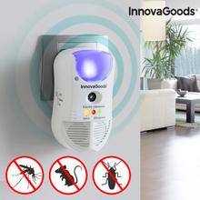 Insektsfrånstötande LED-anordning 5-i-1 med Sensor