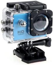 Sport Cam Full HD 1080p/720p - med tilbehør