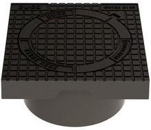 Duco betäckning inkl. lock och lås till 315 mm avloppsrör, 12,5 ton