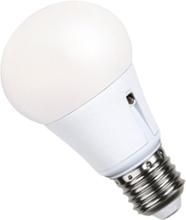 LED 6,5W med skymningsrelä E27