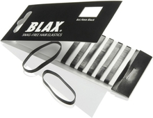 Blax Snag-Free Hair Elastic Black 8 st