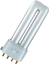 Osram Dulux S/E kompaktlysrör.