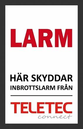 Teletec Larmskylt