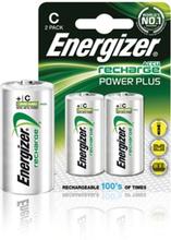 Batteri NiMH C/LR14 1.2 V 2500 mAh PowerPlus 2-blister