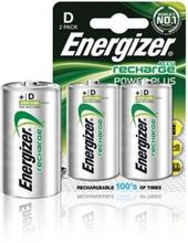 Batteri NiMH D/LR20 1.2 V 2500 mAh PowerPlus 2-blister