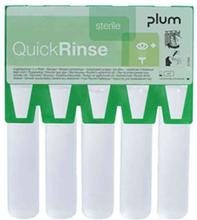 Plum QuickRinse Ögonduschampull 20 ml, 5 st