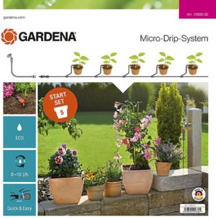 Bevattning för krukor Gardena Micro-Drip