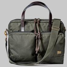 Filson Dryden Briefcase Grön