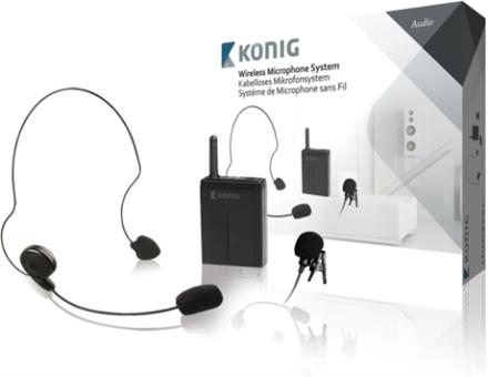 Trådlöst mikrofonsystem med bärbar enhet