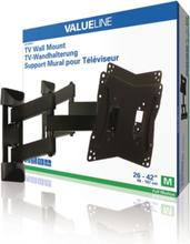 Helt rörligt TV-väggfäste 26 - 42 tum/66 - 107 cm 20 kg