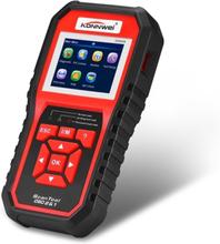 KW850 OBDII / CAN Bildiagnostikk + Batteri og Volt
