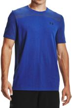 Under Armour Seamless SS - T-shirt - Royal - XL