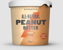 All-Natural Peanut Butter - 1kg - Original - Crunchy