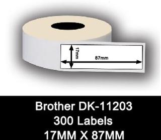 Brother kompatible labels DK-11203