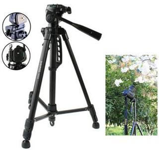 Aluminium Tripod TR-452 kamerastativ/ 130 cm