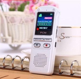 DANSK menu professionel 8GB LCD Digital Voice Recorder med MP3-afspiller