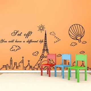TipTop Wallstickers Tower Pattern