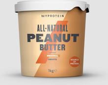 All-Natural Peanut Butter - 1kg - Original - Smooth