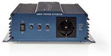 Nedis Strömväxelriktare, ren sinusvåg | 12 V DC - 230 V AC | 1000 W | 1x Schuko-uttag