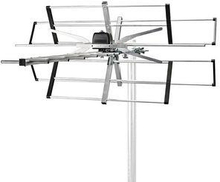 Nedis TV-antenn för utomhusbruk | Max. förstärkning 11 dB | VHF: 170 - 230 MHz | UHF: 470 - 694 MHz | 11 komponenter
