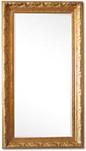 Steve Art Gallery Stor spegel i guld Frankrike motiv, yttermått 56x106 cm