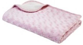 Dubbel Fleecefilt Rosa