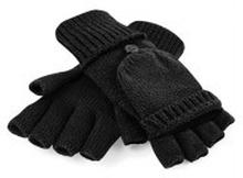 Fliptop Gloves Black