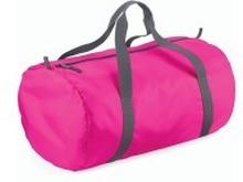 Packaway Barrel Bag Fuchsia