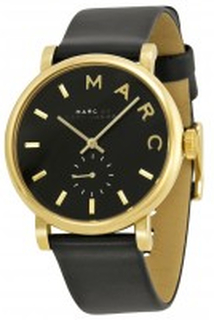 Marc by Marc Jacobs MBM1269 Baker Svart/Läder Ø37 mm