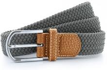 Braid Stretch Belt Slate