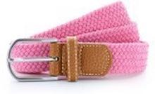 Braid Stretch Belt Pink Carnation