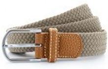 Braid Stretch Belt Khaki