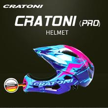 Cratoni Children's Balance Bike Helmet Full Helmet Anti-fall Protection