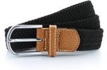 Braid Stretch Belt Black