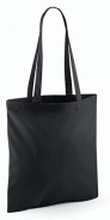Promo Shoulder Tote Black