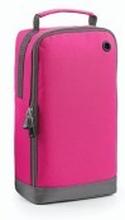 Athleisure Sports Shoe/Accessory Bag Fuchsia