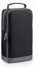 Athleisure Sports Shoe/Accessory Bag Black