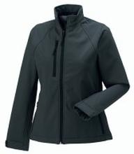 Ladies Soft Shell Jacket Titanium