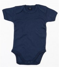 Baby Bodysuit Nautical Navy