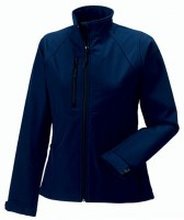 Ladies Soft Shell Jacket French Navy