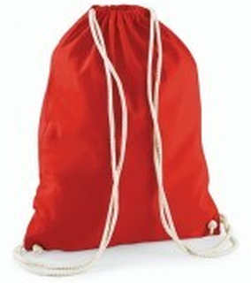 Cotton Gymsack Bright Red