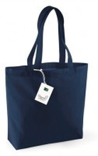 Organic Cotton Shopper Navy