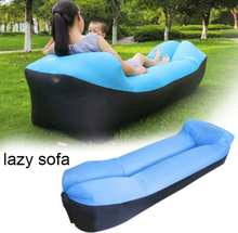 Outdoor Fast Infaltable Sofa Bed Good Quality Inflatable Air Bag Lazy Couch Beach Sofa Laybag For Camping Sleeping