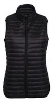 W´s Tribe Fineline Padded Gilet Black