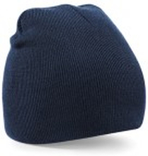 Beanie Knitted Hat French Navy