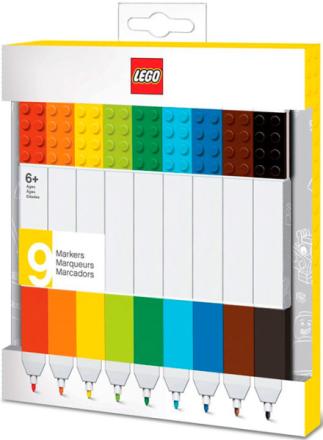 LEGO Tusjer - 9 stk