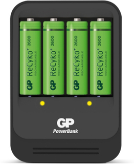 Batteriladdare GP Batteries ReCyko 570