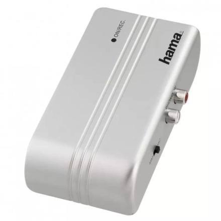 HAMA Adapter från skivspelare till USB silver